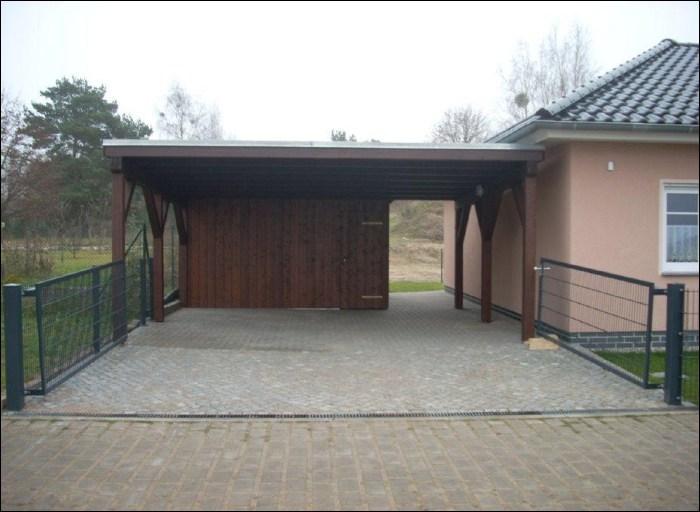 Holztechnik_Bernickel_Carport_Abstellraum_holz_Holzbau_Schorfheide